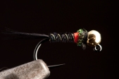 Black Pheasant Tail Hot Spot Jig