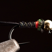 Black Pheasant Tail Hot Spot Jig