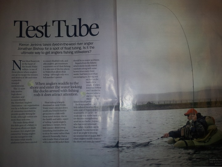 Total flyfisher Ronfishing magazine article