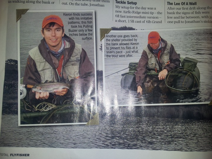 Total Flyfisher Magazine Article Ronsfishing
