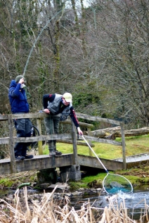Kieron and Lewis Fishing