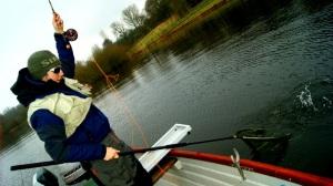 Kieron Jenkins Playing Fish