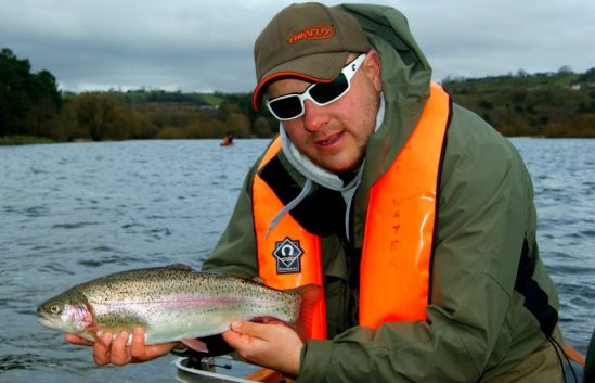 Terry Bromwell Fishing Blagdon