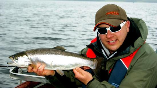 Terry Bromwell First Draycote Trout