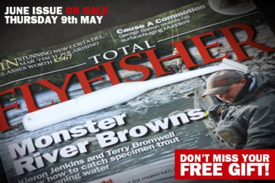 Total Flyfisher cover shot June issue