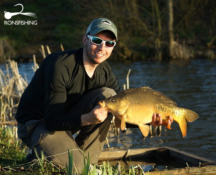 Kieron Jenkins Fly Fishing For Carp