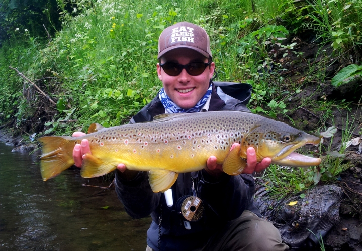 Nick 6lb 2oz Brown Trout