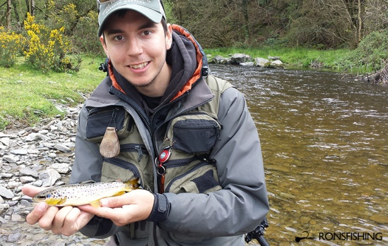 Kieron Jenkins River Cothi Brown Trout