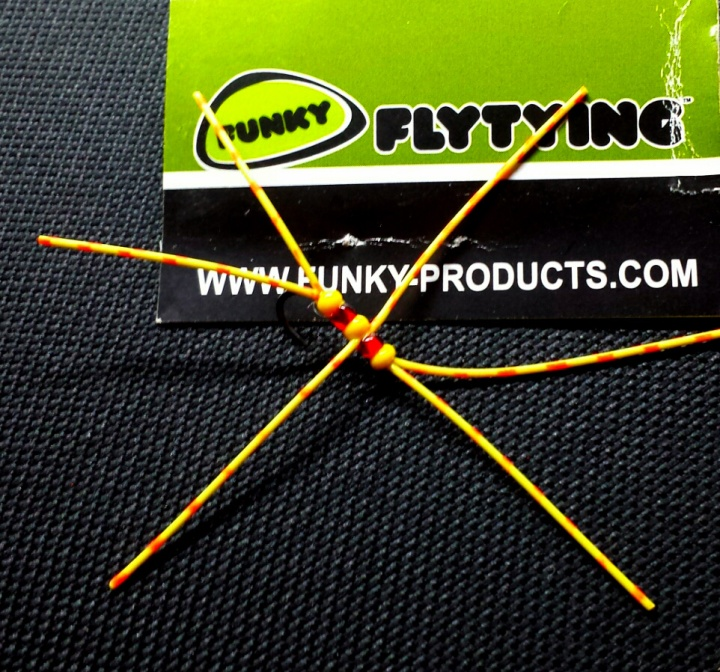 Ronsfishing Funky Fly Tying Barred Rubber