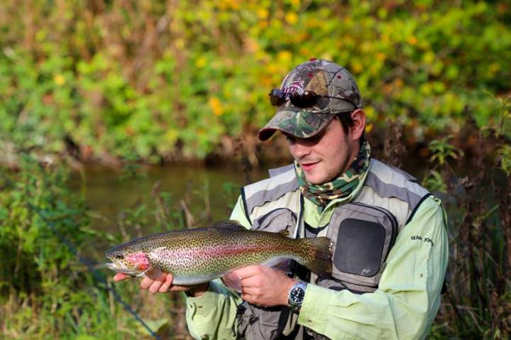 Fishing The River Test Sean Jones