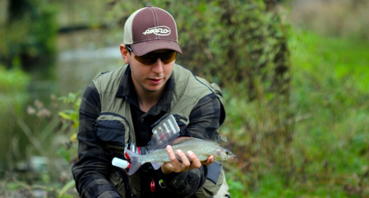 River Test Grayling Fishing Kieron