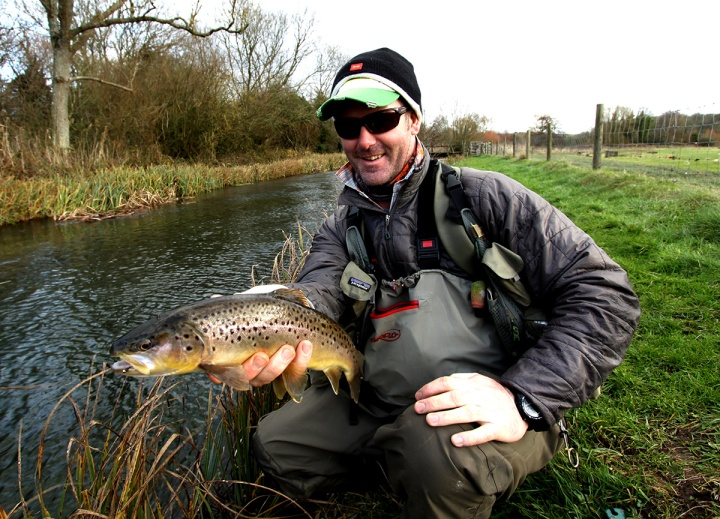 River Anton Famous Fishing Brown