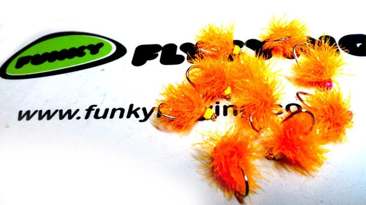 Sunburst Blob Funky Fly Tying Fritz